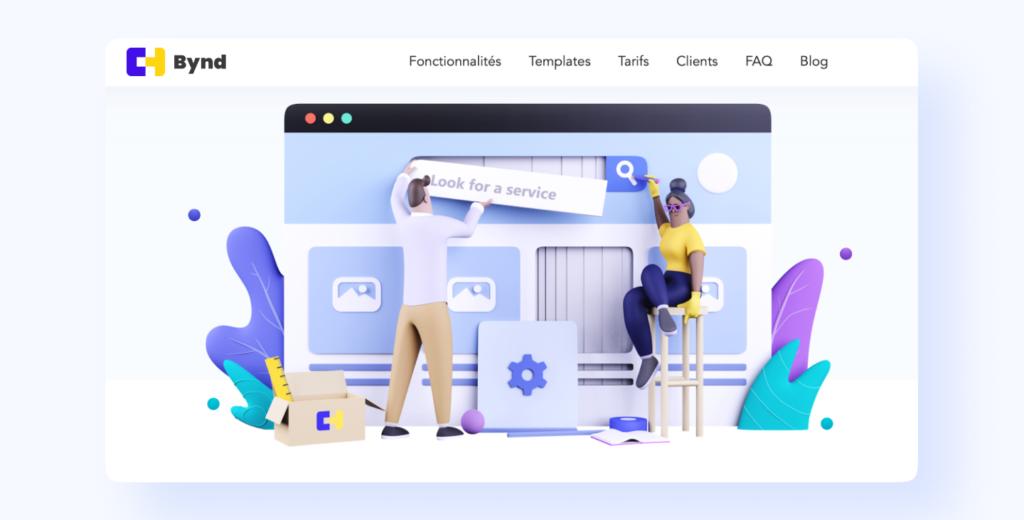 Bynd, la plateforme pour créer rapidement votre marketplace de services