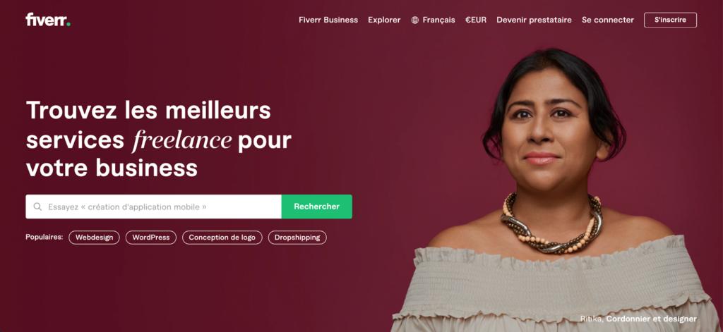 Fiverr, la marketplace de services qui met en relation des freelances avec des entreprises