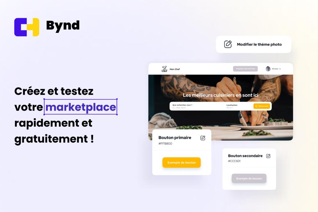 Image : Créez et testez votre marketplace rapidement et gratuitement avec Bynd