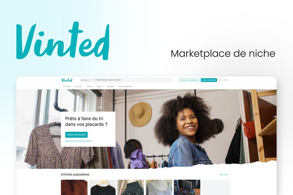 Image : Vinted, marketplace de niche